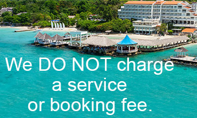 we do not charge a service or booking fee